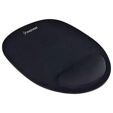 Insten Mouse Pad/Wrist Rest Combo, Black (POTHOPTMOU11)