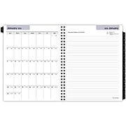 """2022 AT-A-GLANCE 7"""" x 8.75"""" Weekly/Monthly Refill, DayMinder Executive, White (G545-50-22)"""