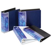 Cardinal Brands- Inc Vinyl SpineVue Ring Binder- 1in. Capacity- 11in.x8-.50in.- Blue (SPRCH12928)