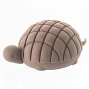 YAMAZAKI home 1.9 x 3 in. Silicone Animal Card-Holder - Brown (YMZK250)