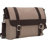 Piel Leather 3081 - CHC Flap - Over Laptop tablet Portfolio - Chocolate (PIEL09432)