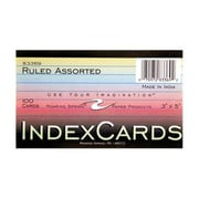 Roaring Spring Paper Products Index Cards - 100 Sheets Per Pack (RSPRD110)