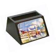 Caroline's Treasures End Stall Sailboats Business Card Holder (CRLT68847)