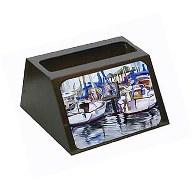 Caroline's Treasures Sailboats Business Card Holder (CRLT68857)