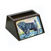 Caroline's Treasures Blue Shar Pei Business Card Holder (CRLT79053)
