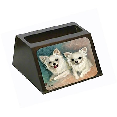 Caroline's Treasures Chihuahua The Siblings Business Card Holder (CRLT79241)