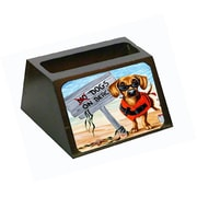 Caroline's Treasures The Dog Beach Dachshund Business Card Holder (CRLT88095)