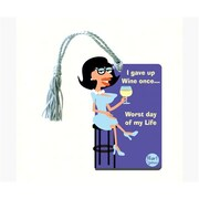 Grimm I Gave Up Wine Once Worst Day of My Life Bottle Gift Magnet Tag (GC22988)