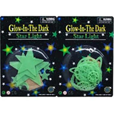 DDI 12 Piece Glowing Planets, Stars & Comets (DLR340021)