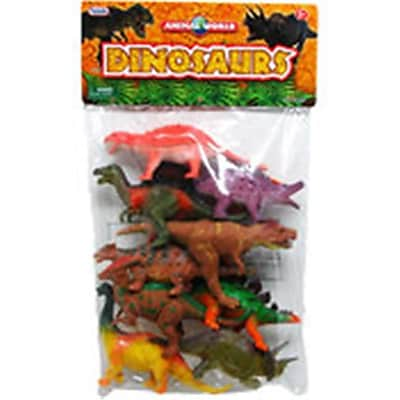 DDI 10 Piece Dinosaur Figures (DLR340109) 24133831