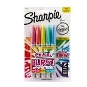 Sanford Ink Fine Tip Permanent Marker, Color Burst Assortment - 5 per Pack (SSN1338)