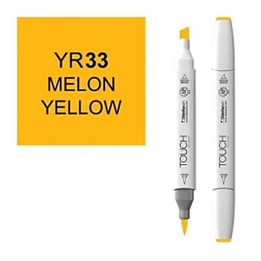 ShinHan Twin Melon Yellow Marker, White (LVN1965)