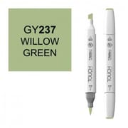 ShinHan Twin Willow Green Marker, White (LVN353)