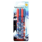 Rock Bottom Deals Captain America The Winter Soldier Ball-point Pens - 4 per Case, Case of 6 (RKBM5221)
