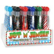 DDI Jot N Jingle Holiday Design Ballpoint Pens, Case of 72 (DLRDY247843)