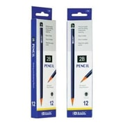 DDI BAZIC num. 2B Premium Wood Pencil - 12-Pack Case Of 24 (DLRDY245863)