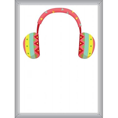 Gadgets Unlimited Dry Erase Board with Ear Muffs Design (GDGTSU007)