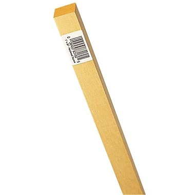 Waddell Mfg. .38in. X 36in. Hardwood Square Dowel - Pack of 25 (JNSN27355)