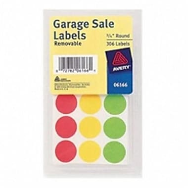 Merchandise Garage Sale Labels, 315 Count - Pack of 6 (MCDS22526)