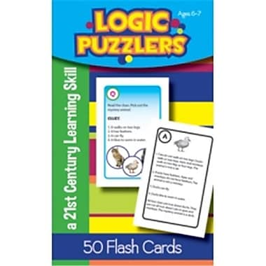 Lorenz Corporation-Milliken Logic Puzzlers Flash Cards Grade 1 (EDRE53030)