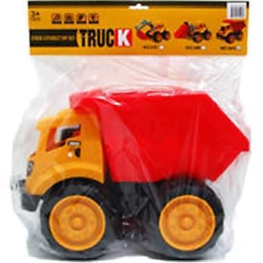DDI 13 in. Dump Truck Toy - Yellow & Red (DLR340152)