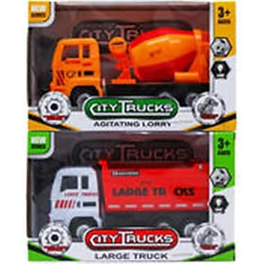 DDI 9 in. City Trucks Toy - Assorted Color (DLR340135)