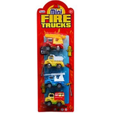 DDI Mini Fire Trucks - 4 Piece (DLR339989)