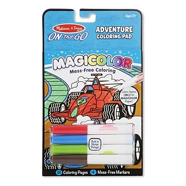 Melissa And Doug Magicolor Coloring Pad - Games & Adventure (MLSSAND1526)