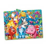 The Learning Journey International 24 x 18 in. My First Big Floor Puzzle - Jungle Friends (TMSN1500)