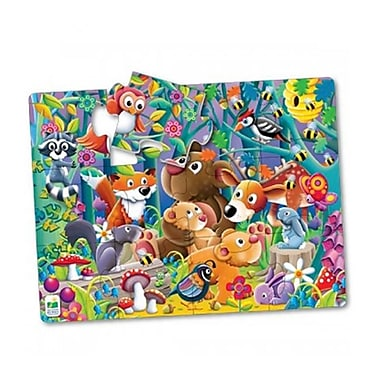 The Learning Journey International 24 x 18 in. My First Big Floor Puzzle - Woodland Friends (TMSN1502)
