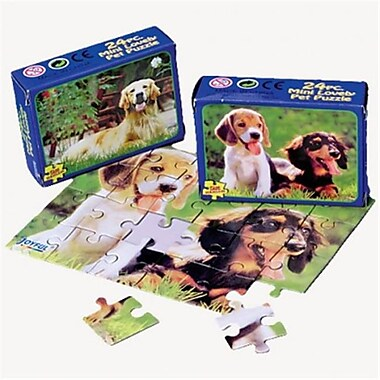 US Toy Dog Jigsaw Puzzles - 12 Per Pack - Pack of 7 (USTCYC172936)
