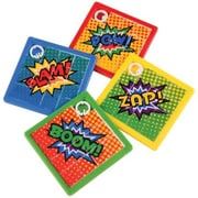 US Toy 8 Piece Superhero Slide Puzzles - 12 Per Pack - Pack of 17 (USTCYC173443)