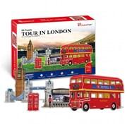 Cubic Fun Tour in London 3D Puzzle (PRMTC286)
