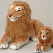 US Toy Plush Realistic Small Lion - 6 Per Pack (USTCYC175233)