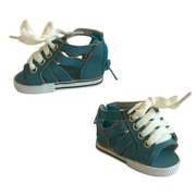 New York Doll Collection Roman Gladiator Shoes Ocean Blue (NYDC1122)