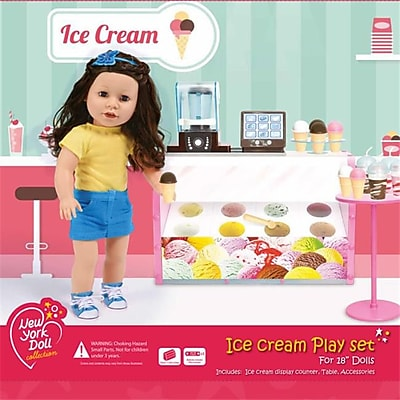 New York Doll Collection Electronic Ice Cream