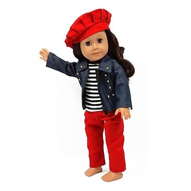 New York Doll Collection Jeans Doll Outfit (NYDC1083)