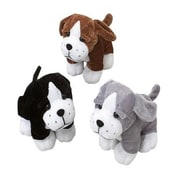 US Toy Sitting Dogs Stuffed Animals - 12 Per Pack - Pack of 3 (USTCYC175499)