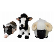 Hugfun Intl Hongkong Ltd 236798ASST 21 in. Plush Farm Animal (TRVAL83107)