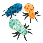 US Toy Plush Polka Dot Spiders - 12 Per Pack - Pack of 5 (USTCYC175502)