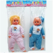DDI 17 in. Baby Doll, Assorted Color (DLR340017)