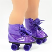 New York Doll Collection Roller Skates, Purple (NYDC1044)