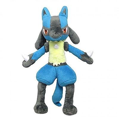 Sanei 7 in. Pokemon Lucario Plush Toy