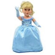 New York Doll Collection Princess Ball Dress with Gloves (NYDC1119)
