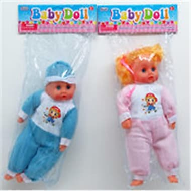 DDI 14 in. Baby Doll, Assorted Color (DLR340020)