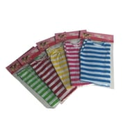 New York Doll Collection Striped Dres, Multi-Color - Set of 5 (NYDC1071)