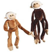 US Toy Plush Natural Colored Hanging Monkeys - 12 Per Pack - Pack of 2 (USTCYC175221)