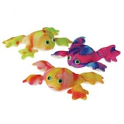 US Toy Plush Tie Dyed Frogs - 12 Per Pack - Pack of 3 (USTCYC175445)