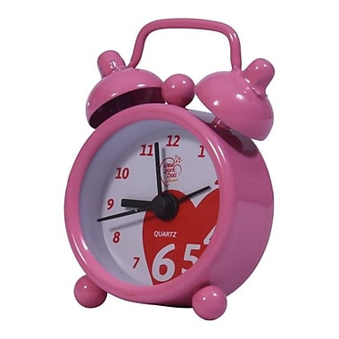 New York Doll Collection Alarm Clock Pink (NYDC1115)