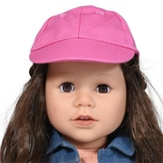 New York Doll Collection Baseball Cap, Pink (NYDC1068)